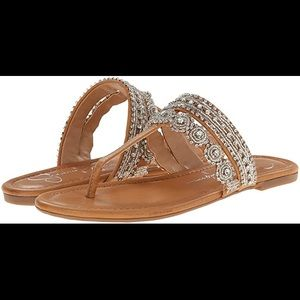 Jessica Simpson Roelle Beaded Sandals